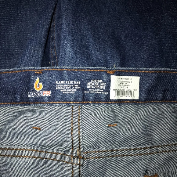 b59b5c410cba lapco fr Other - Lapco FR Relaxed Fit Denim Jeans